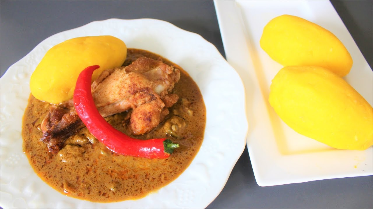 Cuisine africaine foutou foufou recette facile et rapide comment faire le foutou foufou - Cuisine africaine facile ...