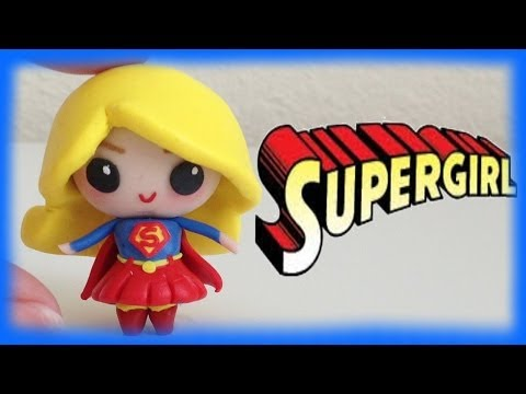 Supergirl / Superwoman Chibi Clay Character Tutorial