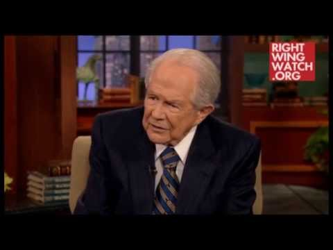 Pat Robertson TROLLED: Answers Fake Question from TDPS Viewer