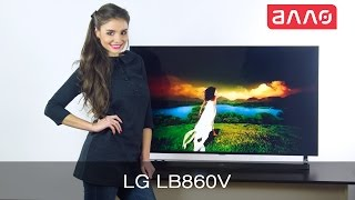 Видео-обзор телевизора LG LB860V(Купить телевизор LG LB860V Вы можете, оформив заказ у нас на сайте: 1. LG 49LB860V ..., 2014-12-19T09:43:57.000Z)