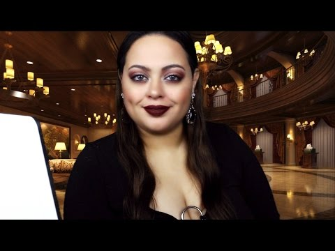 ASMR| Las Vegas Luxury Hotel Check In RP ~Hospitality~