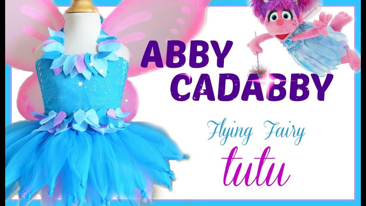 sc 1 st  YouTube & Abby Cadabby Tutu Dress - DIY - YouTube
