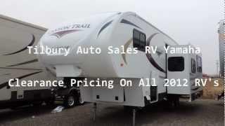 2012 Gulf Stream Cayon Trail Y25frkw 5th Www.tilburyautosales.com/
