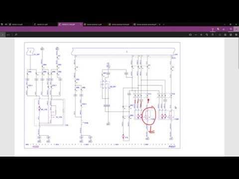 Vauxhall C/L wiring diagram walk through - YouTube