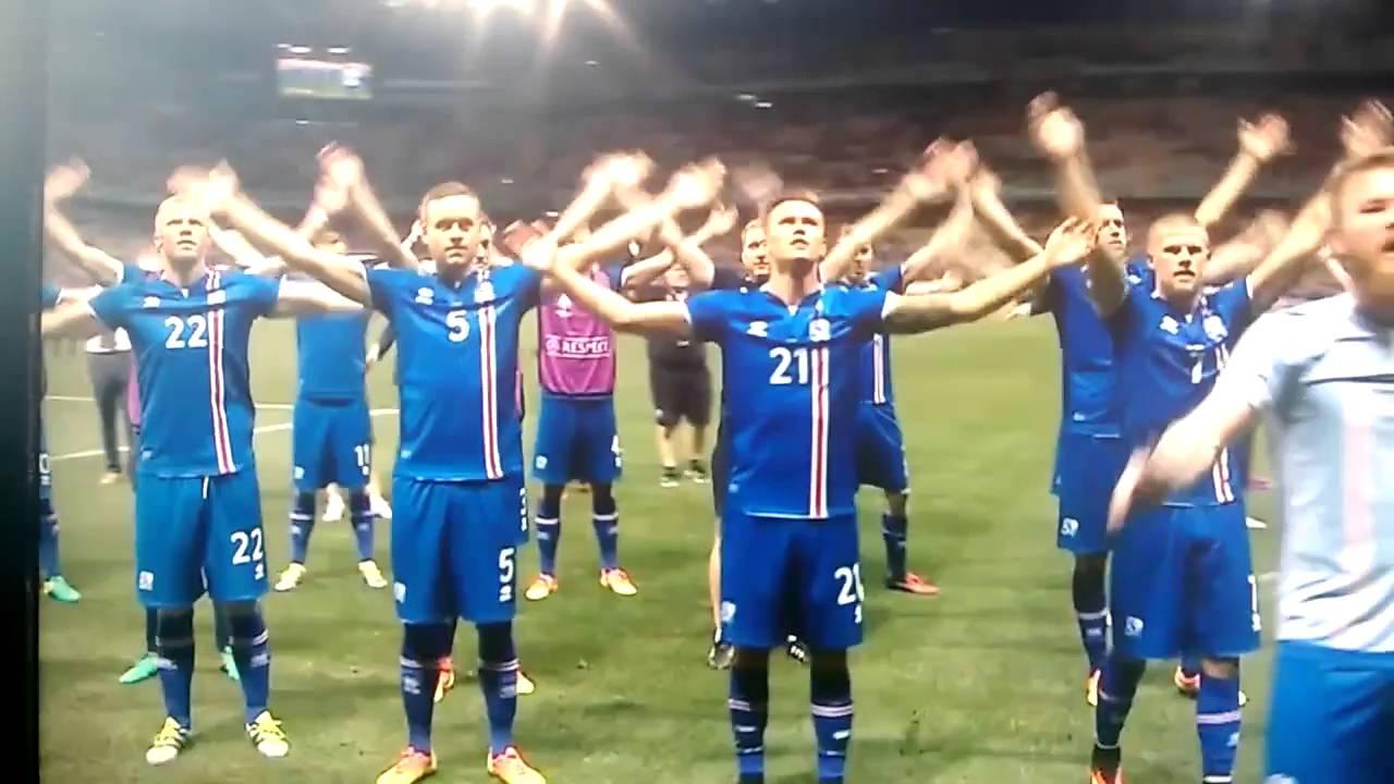 Celebracion Islandia vs Inglaterra | Doovi