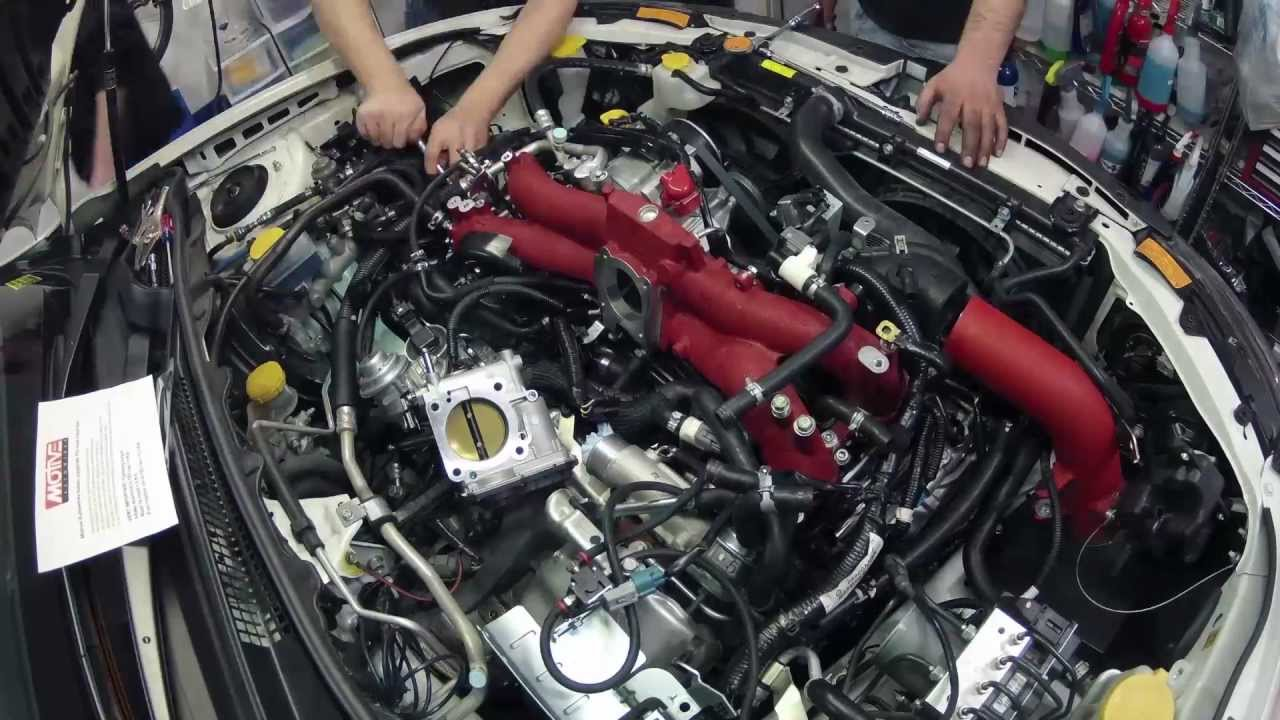 2012 Subaru STi  TGV Delete  Motive Autowerks TGV delete installation  YouTube