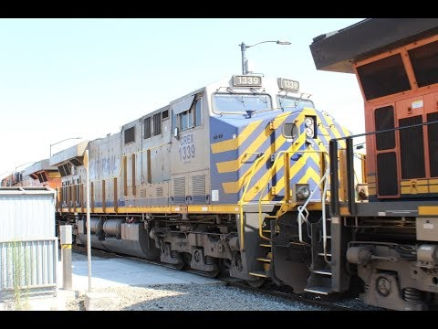 Railfanning Commerce Station Part 1 8/5/2017