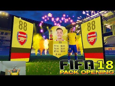 FIFA 18 Pack Opening - Incredibil Mesut Özil