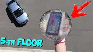 BEST RUGGED SMARTPHONE EXTREME DROP TEST! BOILING WATER & ICE CHALLENGE