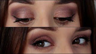bronzy brown smokey eye iconic 3 palette   kelly luc