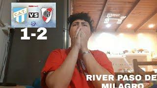 Atletico Tucuman 1 River 2 | Reacciones De Un Hincha De Boca | Copa Argentina 2021