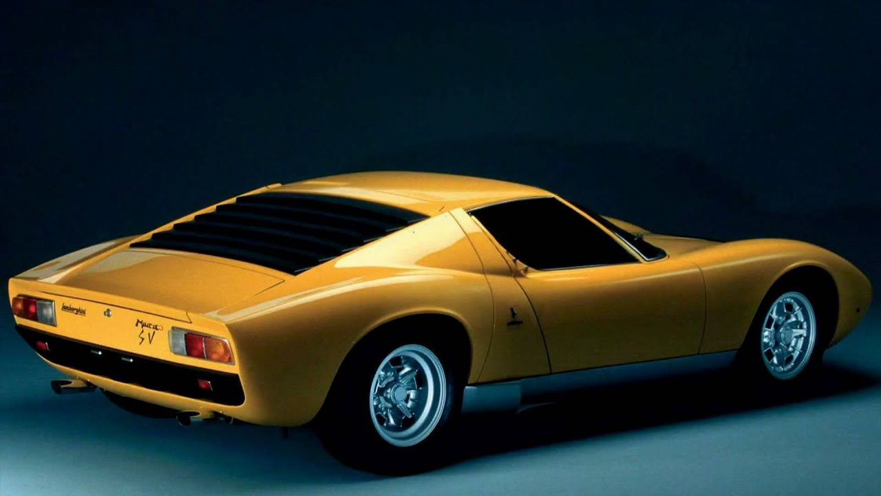 1971 Lamborghini Miura SV - YouTube