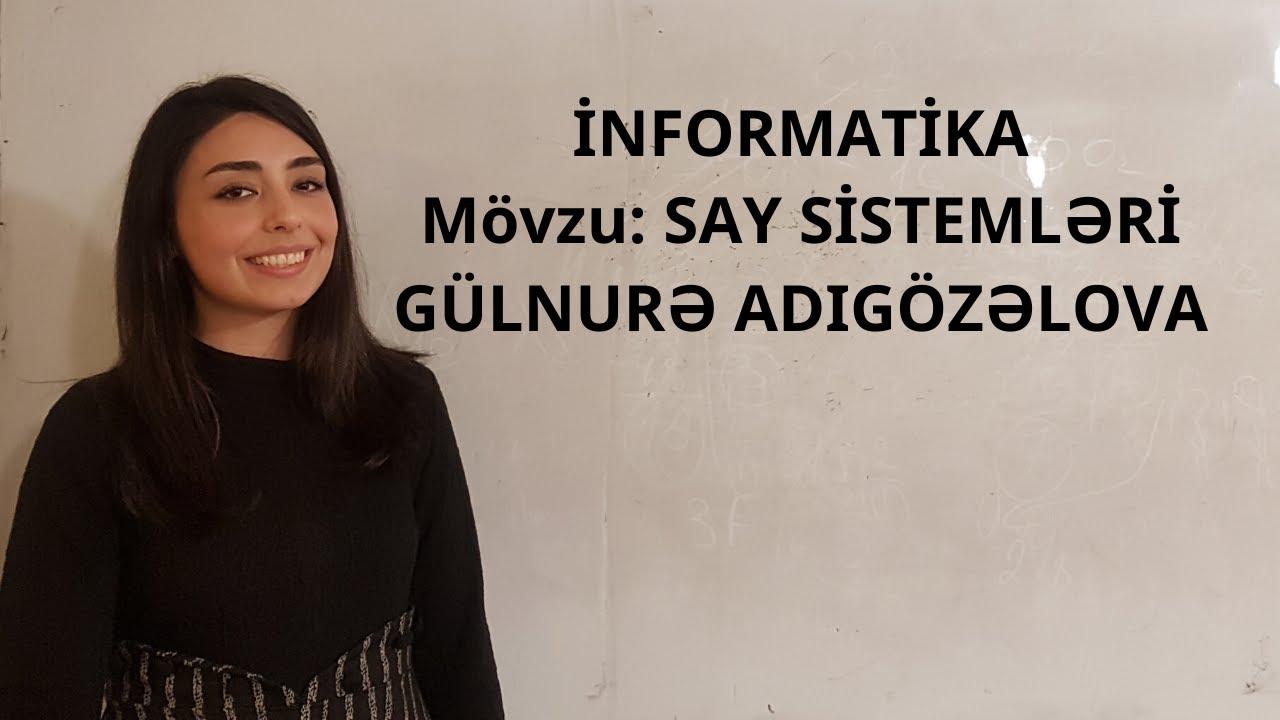 Ikili say sistemi (Binary System)