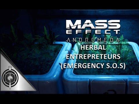 HERBAL ENTREPRENEURS // Mass Effect Andromeda - Side Mission - Kadara (Emergency S.O.S)