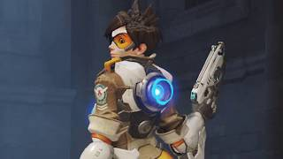 Tracer TOO SEXY for OVERWATCH! - Controversial Pose Removed