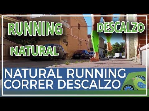 Técnica Natural Running y Barefoot cómo correr descalzo sin morir en el intento