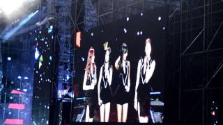 130309 SISTAR Introduction  #MUBANKJKT Music Bank Jakarta, Indonesia (snr)