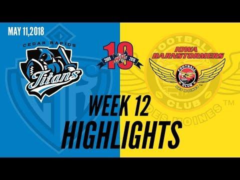 Week 12 Highlights: Cedar Rapids at Iowa