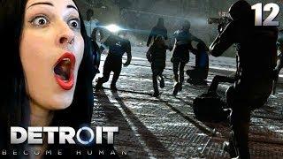 DETROIT: BECOME HUMAN Walkthrough Part 12 - PANIC AT JERICHO