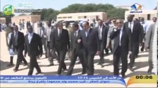 رئيس الجمهورية يؤدي زيارة مفاجئة لكل من  المركز الصحي و ثانوية تيارت - قناة المرابطون