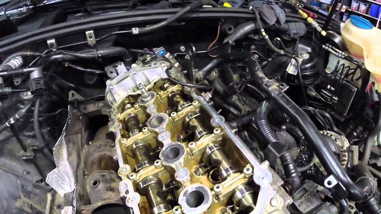 Audi A4 Quattro 2 0l Fsi Cylinder Head Remouval Update No