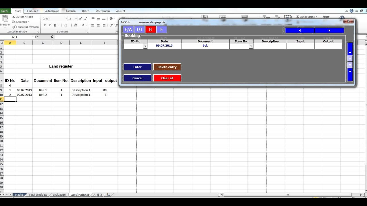 Stock Program Inventory With Pictures Images In Excel Vba