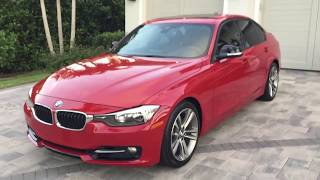 2014 BMW 328i Sport Line Sedan Review and Test Drive by Bill - Auto Europa Naples