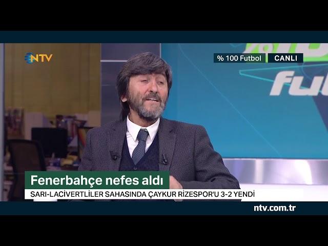 % 100 Futbol Fenerbahçe - Çaykur Rizespor 2 Şubat 2019