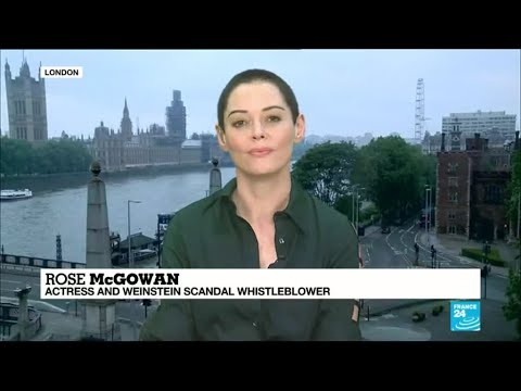 Weinstein Whistleblower Rose McGowan speaks to France 24