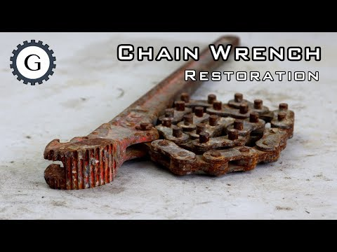 Chain Wrench Restoration | MCC Chain Wrench
