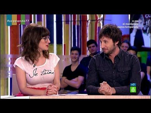 "Zapeando - Raúl Fernández: ""Ana Morgade besa maravillosamente"""