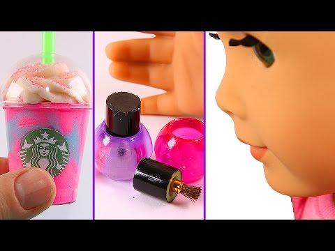 DIY American Girl Stuff: Nail Polish, Unicorn Frappe, Etc