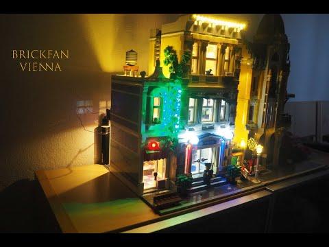Kann man die LEGO® Polizeistation noch verschönern?