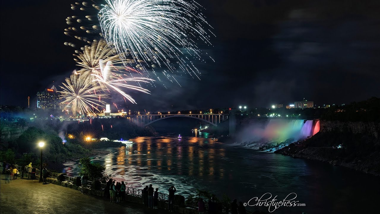 festival of lights niagara falls