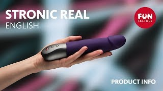 Video: STRONIC REAL VIBRATOR BY FUN FACTORY