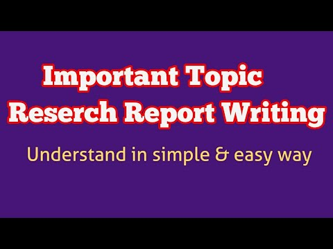 Research Report Writing( Research Aptitude Imp Topic) By Be Prepare For UGC-NET