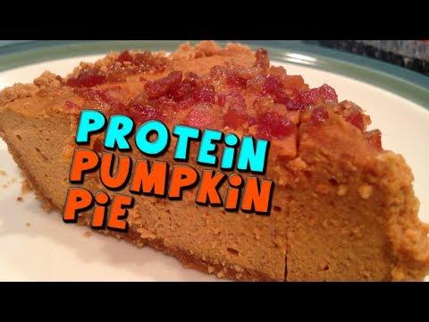 PROTEIN Pumpkin Pie Recipe (Low Fat)