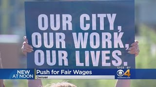 Construction Unions Push For Fair Wages