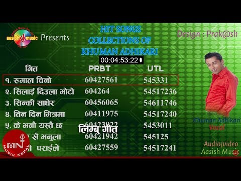 Superhit Songs Collection by Khuman Adhikari | Jukebox | Ashish Music