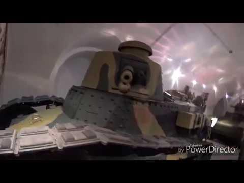 видео: бродим по варшавскому музею военной техники