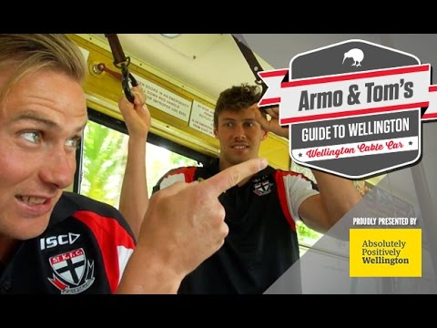 Armo & Tom's guide to: Wellington Cable Car