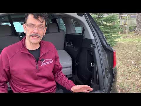 Multi-Lift W/PIR Wheelchair Adapter In Honda Odyssey:  Elements Of System