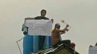 Prison protests hit Bolivia - no comment