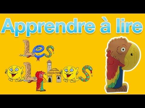 Apprendre à Lire avec les Alphas - Méthode syllabique - Lettre P