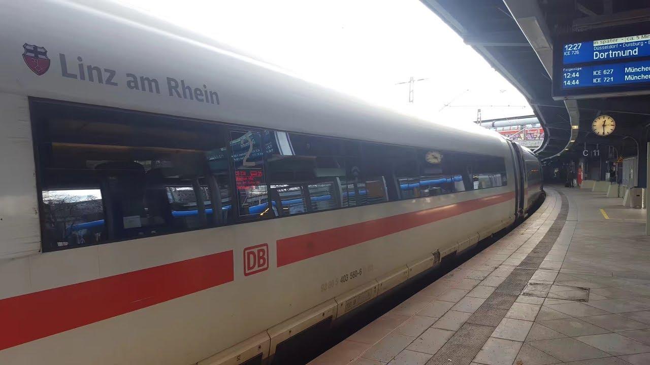 Ice 3 In Köln Messedeutz Gl11 12 Ice726 Dortmund Hbf