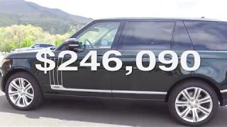 $246,000 Holland & Holland Range Rover in Colorado