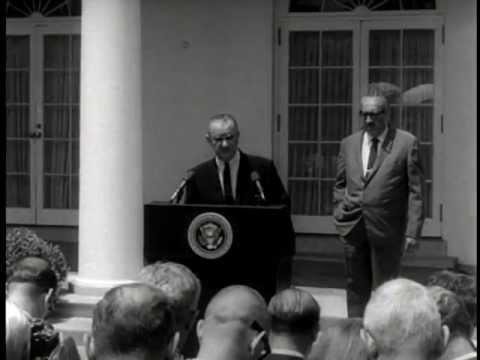 """Thurgood Marshall Nominated to Supreme Court"" (Washington DC, 6/13/1967)"