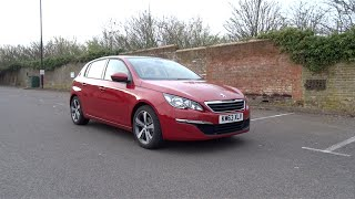 2014 Peugeot 308 1.6 e-HDi 115 Active Start-Up and Full Vehicle Tour
