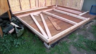 How To Build A Pigeon Loft (part 2)