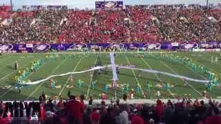 Arya Las Vegas! Jai Ho Bollywood Halftime Performance at Las Vegas College Football Game!